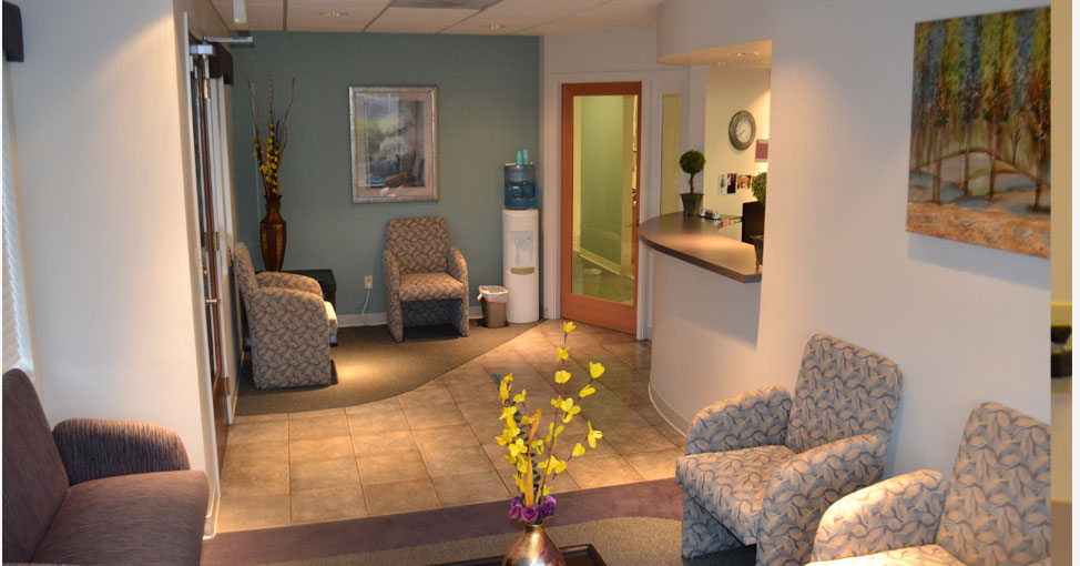 Kent Dental Clinic waiting room